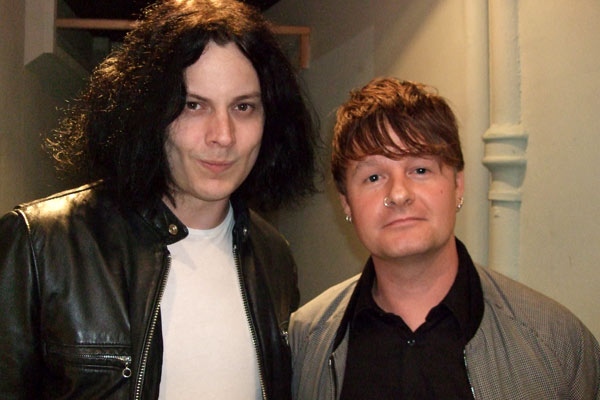 Listein to Vic's interview with Jack White tonight on Radio Scotland