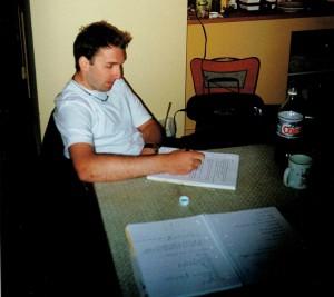 Pete Writing