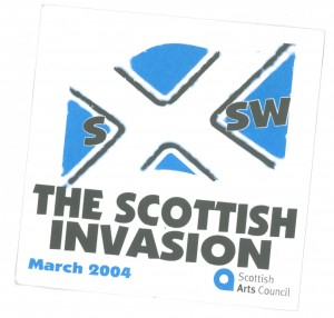 Scottish Invastion SXSW 2004 Front